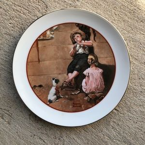 Vintage Norman Rockwell Plate